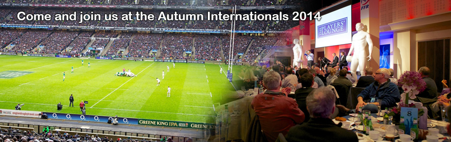 Autumn Internationals Hospitality 201