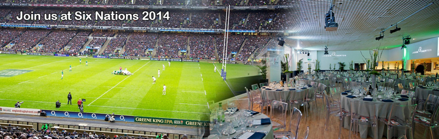 Six Nations 2014 Hospitality
